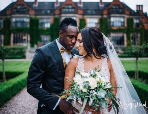 Footballer wedding